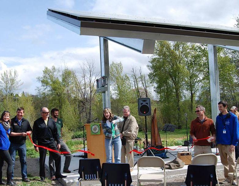 Solar array ribbon cutting