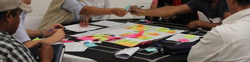 Plataforma Multiactor en el taller de riesgos y políticas públicas