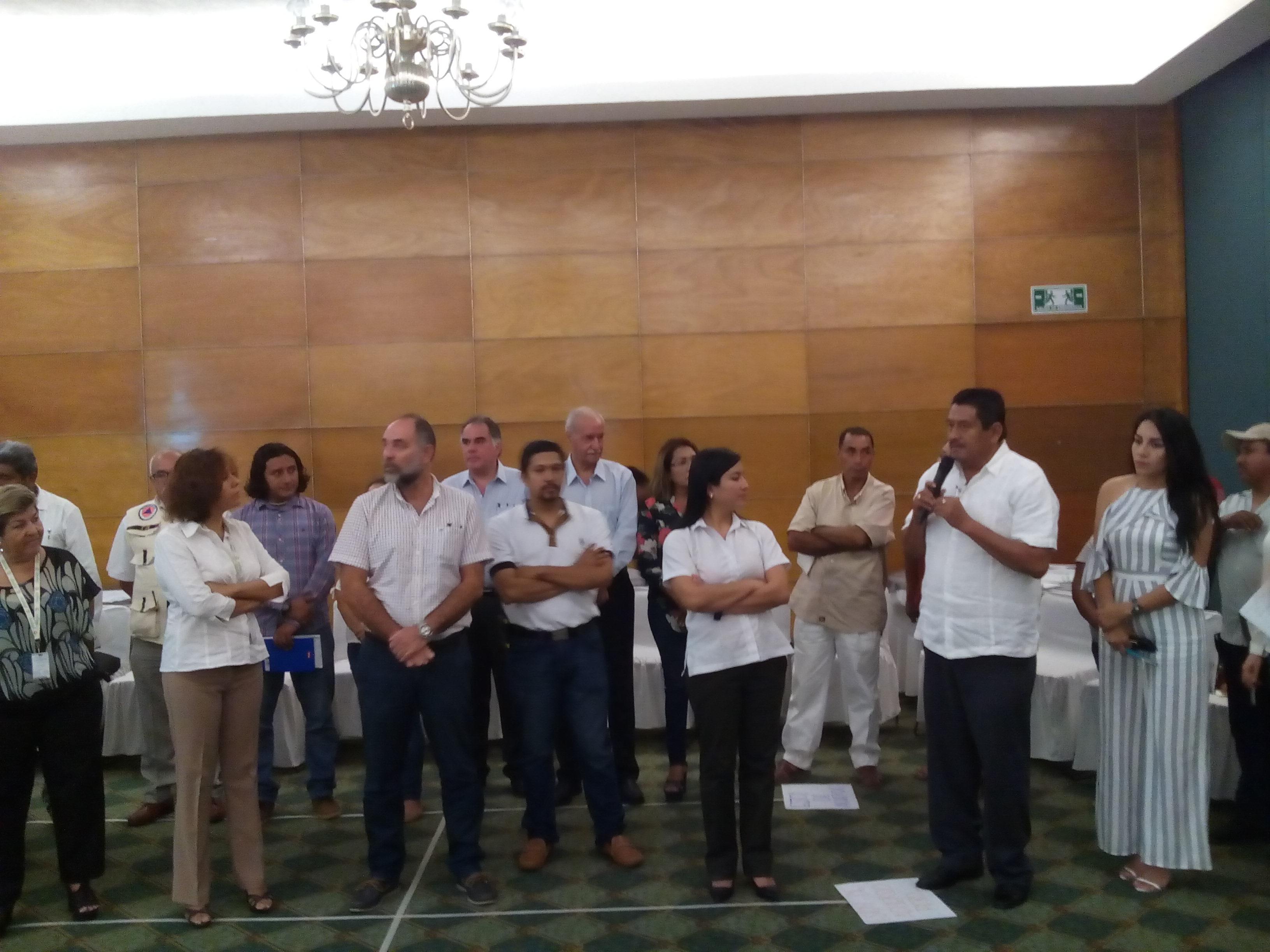 """Formación y lanzamiento de la plataforma multi-actor  """"Coyuca Resiliente al Clima"""""""