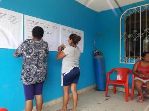 Grupo focal El Bejuco; planeando acciones