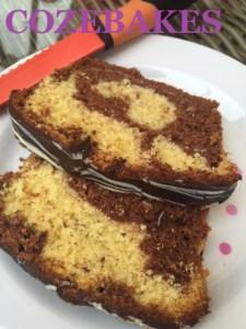 marble cake, vanilla and chocolate marble cake, cozebakes, mary berry marble cake,