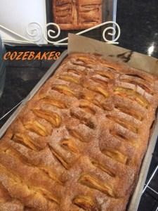 cinnamon apple cake, apple cake, gluten free cake, gluten free, gluten free baking, gluten free apple cake, cozebakes, wheat free cake, baking, cake, cinnamon sugar, cinnamon, apples