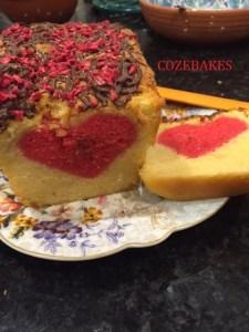 heart cake, hidden heart cake, gluten free heart cake, gluten free cake, sponge cake, gluten free sponge cake, valentines cake, heart cake, coeliac friendly baking