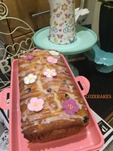 lemon loaf cake, lemon and blueberry cake, blueberries, lemon curd, greek yoghurt, tea time recipes, afternoon tea cake recipes, light cake recipes