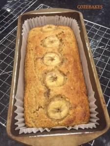 low fat banana loaf, banana loaf, gluten free banana loaf, ground almonds banana loaf, healthy banana bread