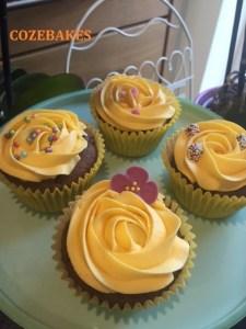 chocolate orange cupcakes, nestle chocolate orange, cupcakes, pretty cupcakes, cozebakes, chocolate cupcakes, orange flavoured cupcakes,