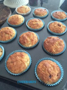 banana cranberry muffins, gluten free muffins, gluten free baking, cozebakes, low sugar muffins, low sugar gluten free muffins