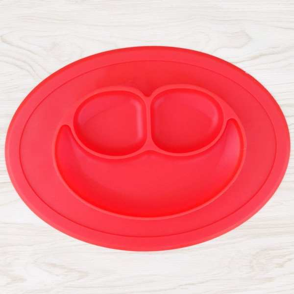 Silicone Toddler Plate