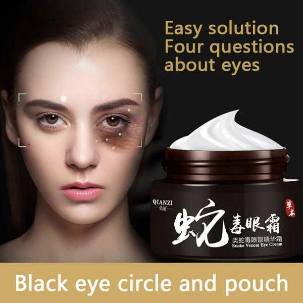 Snake Venom Eye Cream Essence Deep Moisturizing Care Tighten The Dark Circles Multiple Cares Promote Skin
