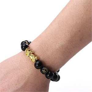 Feng Shui Black Obsidian Bracelet