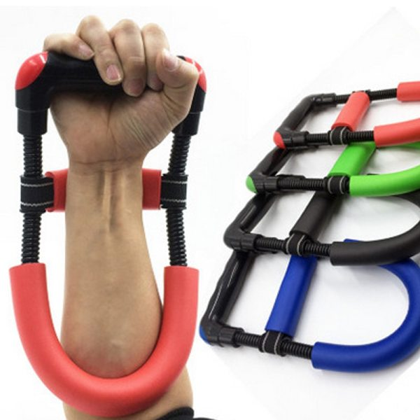 Hand Grip Exerciser Trainer Arm Wrist Anti slide Hand Wrist Device Power Developer Strength Training Forearm