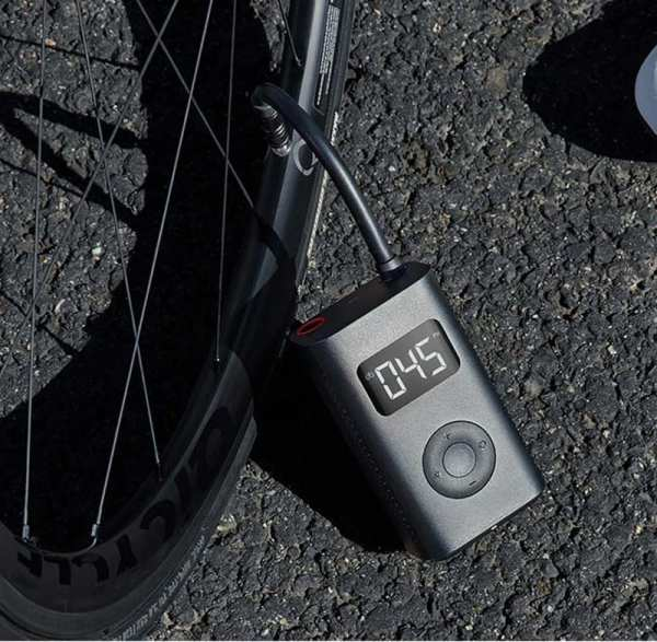 In Stock Xiaomi Mijia Portable Smart Digital Tire Pressure Detection Electric Inflator Pump for Bike Motorcycle
