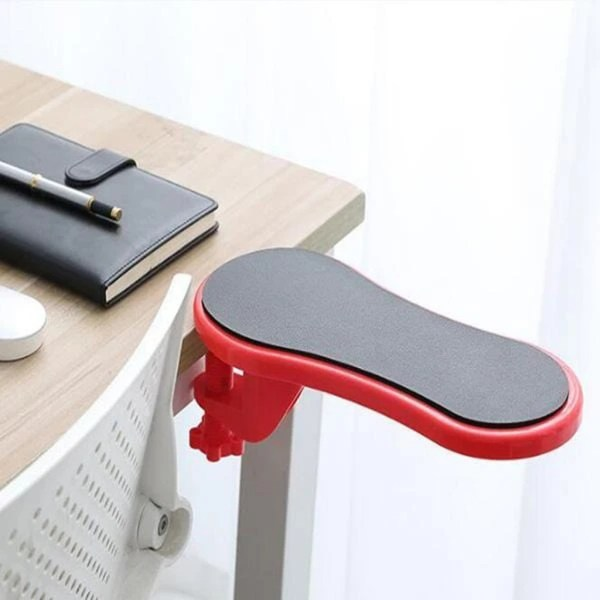 Attachable Armrest Pad Plastic Desk Computer Arm Support Mouse Pads Arm Wrist Rests Chair Extender Hand