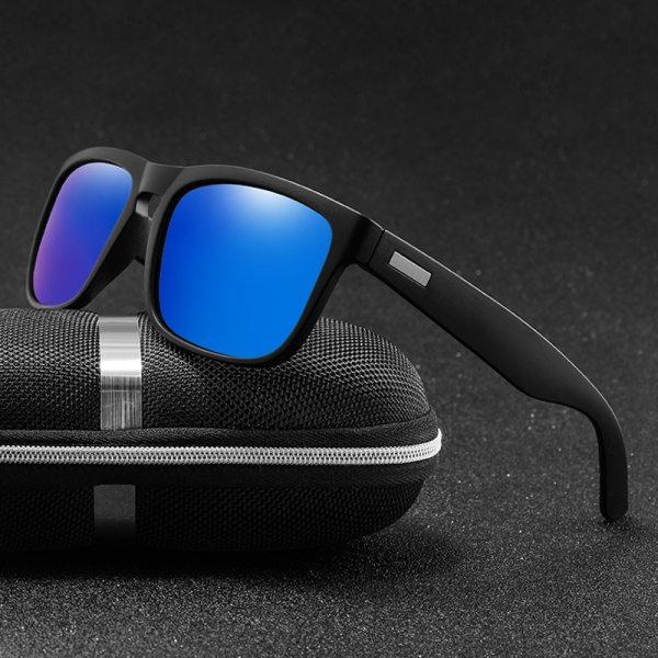Brand Design Polarized Sunglasses Classic Coating Male Square Sunglass Men Driving Sun glasses UV400 Shades gafas