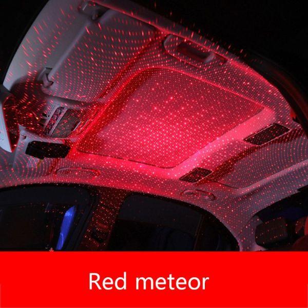 Car USB LED Car Atmosphere Ambient Star Light DJ RGB Colorful Music Sound Lamp Christmas Interior