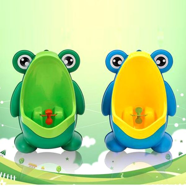 New Arrival Baby Boy Potty Toilet Training Frog Children Stand Vertical Urinal Boys Penico Pee Infant