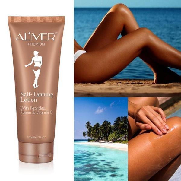 Self Tanning Cream Body Black Bronze Tanning Lotion Foundation Moisturizing Oil Control Face Skin Care Cream