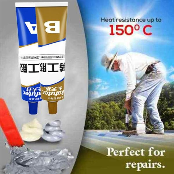 Industrial Heat Resistance Cold Weld Metal Repair Paste Group Double Tube Sealant High Temperature Resistant Sealant