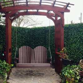 Faux Privacy Fence