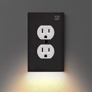 Wall Plate With LED Night Lights