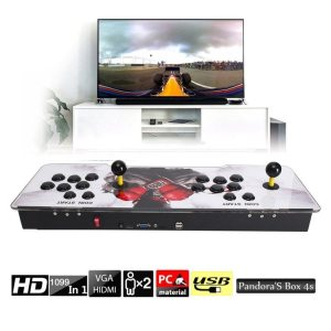 1299 Video Games in 1 Family Box Home Arcade Console with Dual Players Joystick Button HDMI 5