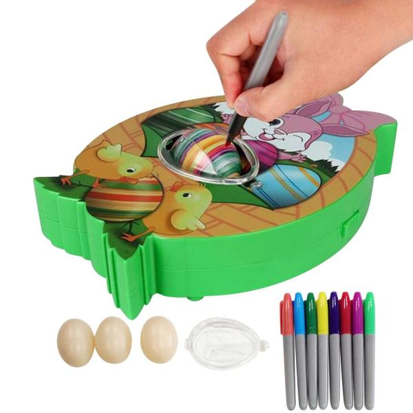 DIY Egg Decorating Coloring Kit Easter Egg Decorating Kit Egg Spinner Machine With Accessories Or Both