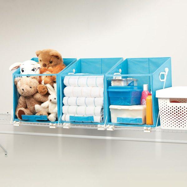 Home Bedroom Clothes Organizer Shelf Bag Closet Caddy Retrieve Items from High Shelves Safely and Easily