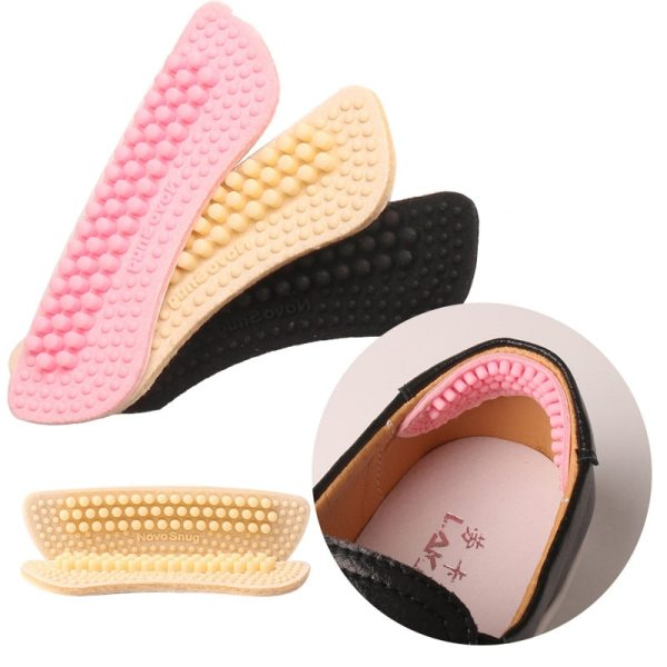 1 Pair Shoe Stickers Thick thin Foot Care Insoles Anti wear Foot Heel Half Yard Pad