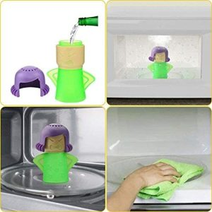 Angry Mama Microwave Steam Cleaner Microwave Oven Steam Cleaners Easily Clean In Minutes Cleans Add Vinegar 2