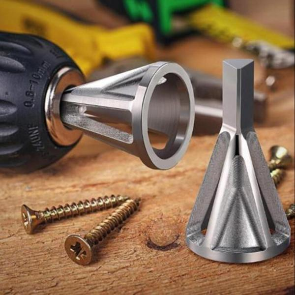 Racing Motorcycle Car Deburring External Chamfer Tool High Strength Hardness Drill Bit Remove Burr Car Accessories