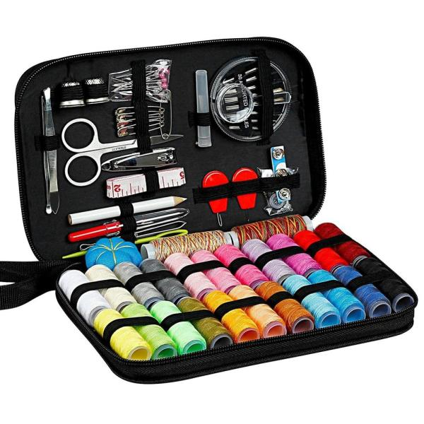 Sewing Kits DIY Multi function Sewing Box Set for Hand Quilting Stitching Embroidery Thread Sewing Accessories