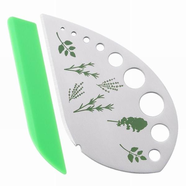 1 pc Vegetables Rosemary Thyme Cabbage Leaf Stripper Stainless Steel Herb Stripper Looseleaf Rosemary Kitchen Gadgets