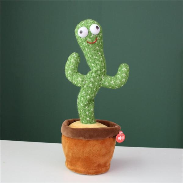 Cactus Plush Toy Electronic Shake Dancing toy with the song plush cute Dancing Cactus Early Childhood