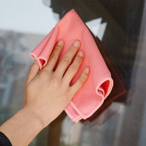 Fish Scale Microfiber Polishing Cleaning Cloth
