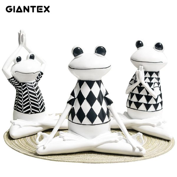 GIANTEX living room Nordic home decor frog ornaments resin crafts dressing table children s room frog
