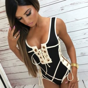 LI FI 2019 Sexy One Piece Swimsuit Women Swimwear Lace Up Bodysuit Bandage Beach Bathing Suit 40.jpg 640x640 40