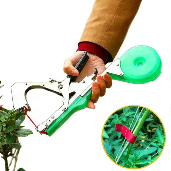 New Tying Machine Upright Plant Tapener Bundle Tapetool Branch Hand Pack Grape Vegetable Tomato Cucumber Pepper