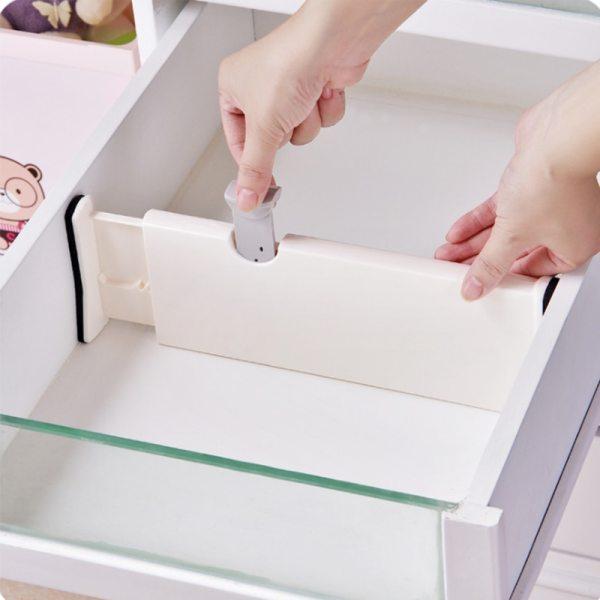 Retractable Adjustable Drawer Divider Holder Partition Drawer Organizer Storage Clapboard Dividers Target For Clothes Kitchen