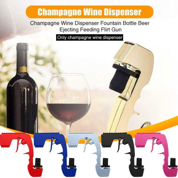 Wine Stopper Champagne Wine Dispenser Bottle Beer Ejector Feeding Bottle Beer Spray Gun Bottle Cap Wine