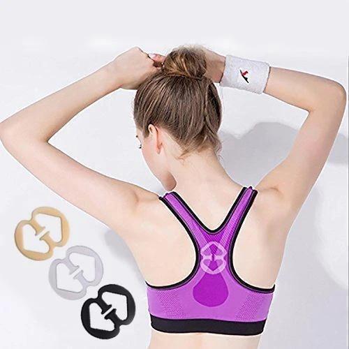 12pcs Smart Bra Strap Clip New Invisible Bra Buckle Shadow Shaped Underwear Buckle Bra Clips Strap
