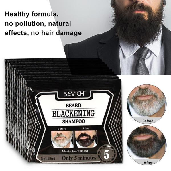 1 3 5pcs Beard Shampoo Black Beard Shampoo Beard Coloring Liquid Beard For Men Beard Care