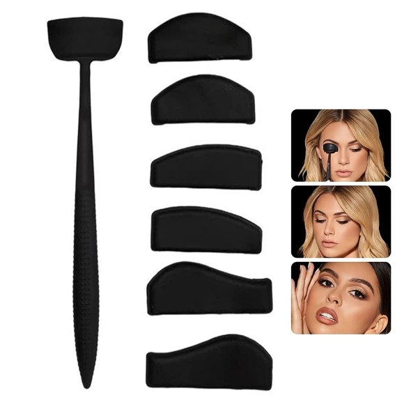 1pcs Crease Line Kit Eye Shadow Applicator Silicone Eyeshadow Stamp Crease Tools Precise Eyeshadow In Seconds