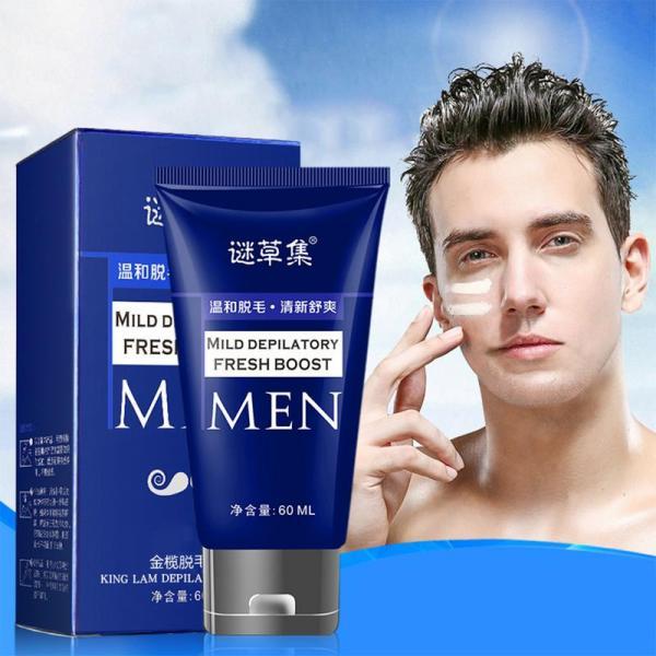 60ML Depilatory Cream Hair Removal Armpit Arm Leg Hair Painless For Men Women Genitals Axillary Body