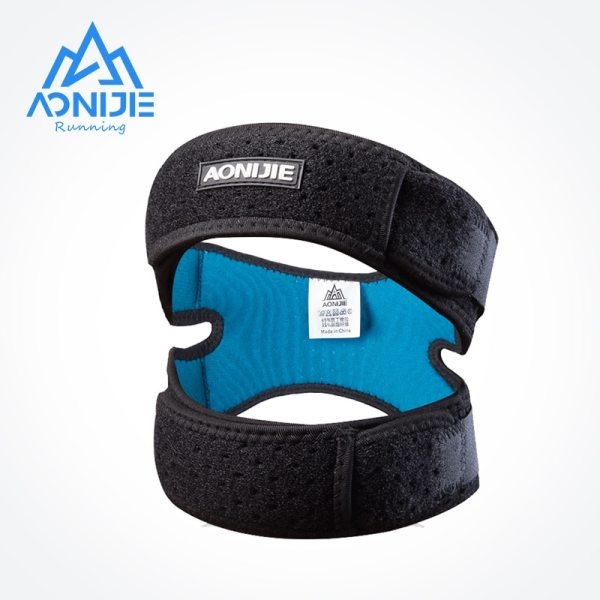 AONIJIE E4096 Dual Patella Knee Strap Athletics X shaped Brace Support Pad Pain Relief Band Hiking
