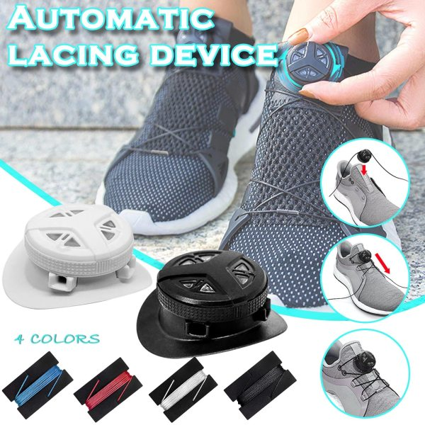 Automatic Shoelace Fast Automatic Shoelace Artifact Lazy People 2 Automatic Shoelaces Buckle 2 Shoelaces Sneaker Accessories
