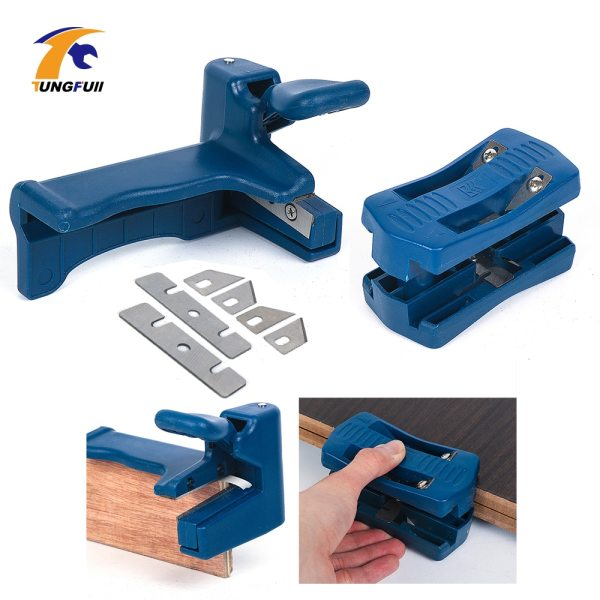 Dutoofree Double Edge Trimmer Banding Machine Set Wood Head and Tail Trimming Carpenter Hardware