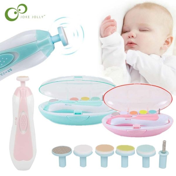 Electric Nail Trimmer For Newborn Baby Portable Newborn Nail Care Set Infant Kids Manicure Set Manicure