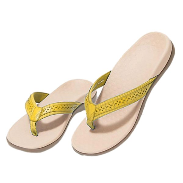 Lady flip flop Flat shoes slippers sandals summer Beach Daily Soft bottom slippers with arched support