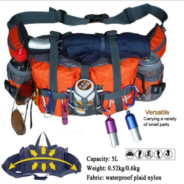 Professional Outdoor Sports Bags Hiking Cycling Climbing Backpack Waterproof