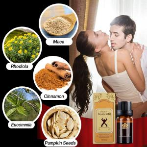 Durable Real Man Herbal Maca Oil
